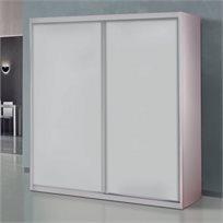 ארון הזזה 2 דלתות דגם ארז לייט
