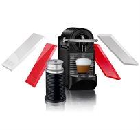 מבצע נספרסו! מכונת קפה PIXIE CLIPS + מקציף עם 2 קליפים בצבעים מתחלפים מבית Nespresso  - משלוח חינם!