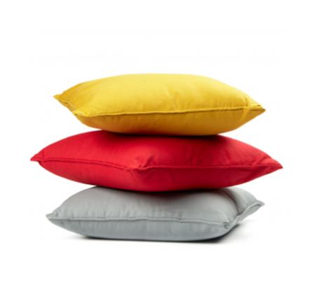 כרית כותנה מרובעת בצבעים לבחירה
