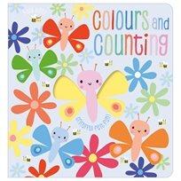 ספר מישוש - מספרים וצבעים