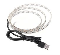 תאורת לד אחורית למסכי טלוויזיה בחיבור USB התקנה מהירה ופשוטה