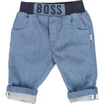 BOSS ג'ינס (1-18 חודשים) כחול ג'ינס