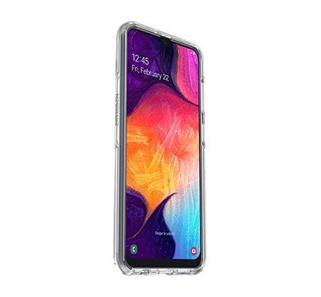 כיסוי ל- Galaxy A50 דגם Symmetry בצבע שקוף