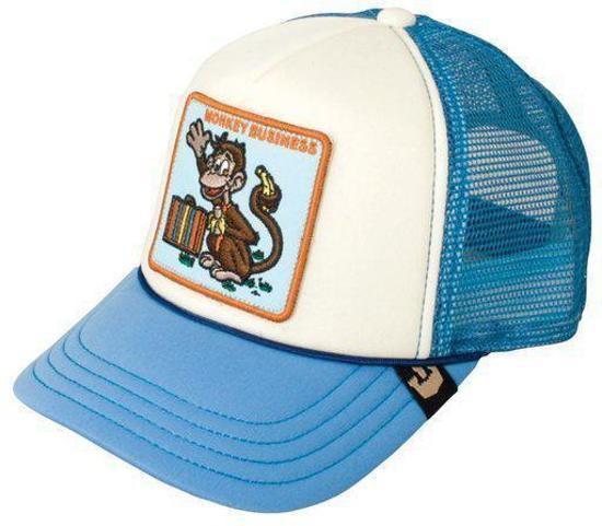 Goorin ילדים// Monkey Business Blue כובע מצחייה חיות