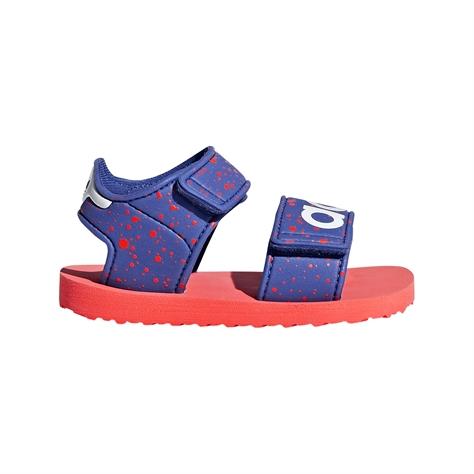Adidas תינוקת// Beach Sandal Blue/Solar Red