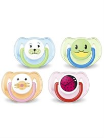 Avent Pacifiers Animals Paintings
