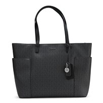 GUESS// DREAMVILLE TOTE COAL