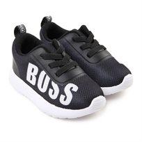 BOSS בוס נעלי סניקס (מידות 20-26) - שחור