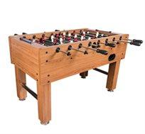 שולחן כדורגל ביתי דגם 'ויקטוריה' עשוי MDF, גדול ומאסיבי עם ציפוי דקורטיבי