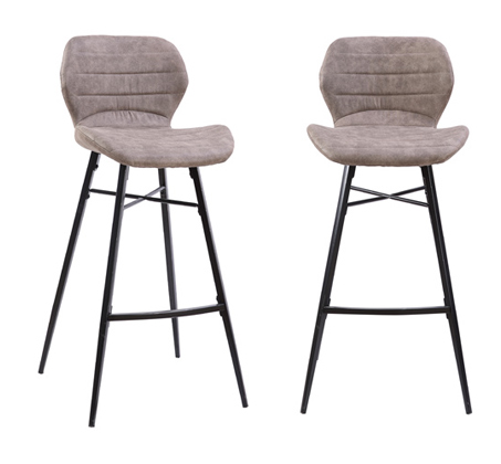 זוג כסאות בר דגם FLORIDA  – משלוח חינם