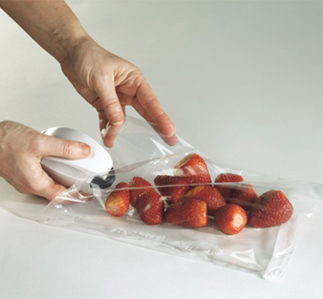 אוטם מקצועי לאטימת שקיות ניילון ופלסטיק העוזר לשמור על טריות המזון לאורך זמן BPATENT - תמונה 4