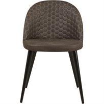 סט של 4 כיסא לפינת אוכל Monaco  - חום - משלוח חינם