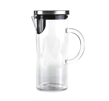 קנקן שתייה מזכוכית 1 ליטר