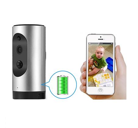 מצלמת IP נסתרת אלחוטית ללא צורך בחיבור לחשמל סוללה ל-3 חודשים 