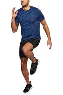 חולצת אימון UNDER ARMOUR SEAMLESS דגם 1289596-487 לגבר בצבע כחול