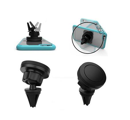 מעמד מגנטי לרכב לפתח המזגן, מתאים לכל סוגי הסמארטפונים ולכל הרכבים - תמונה 3