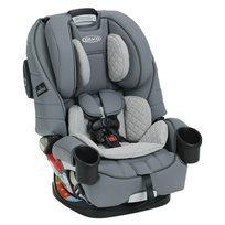 כיסא בטיחות משולב בוסטר 4 ב 1 4Ever עם הגנה היקפית Trueshield - אפור
