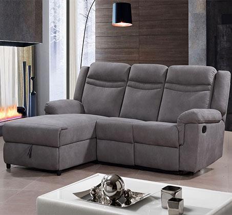 ספה פינתית עם הדום נשלף דגם מירלוסה