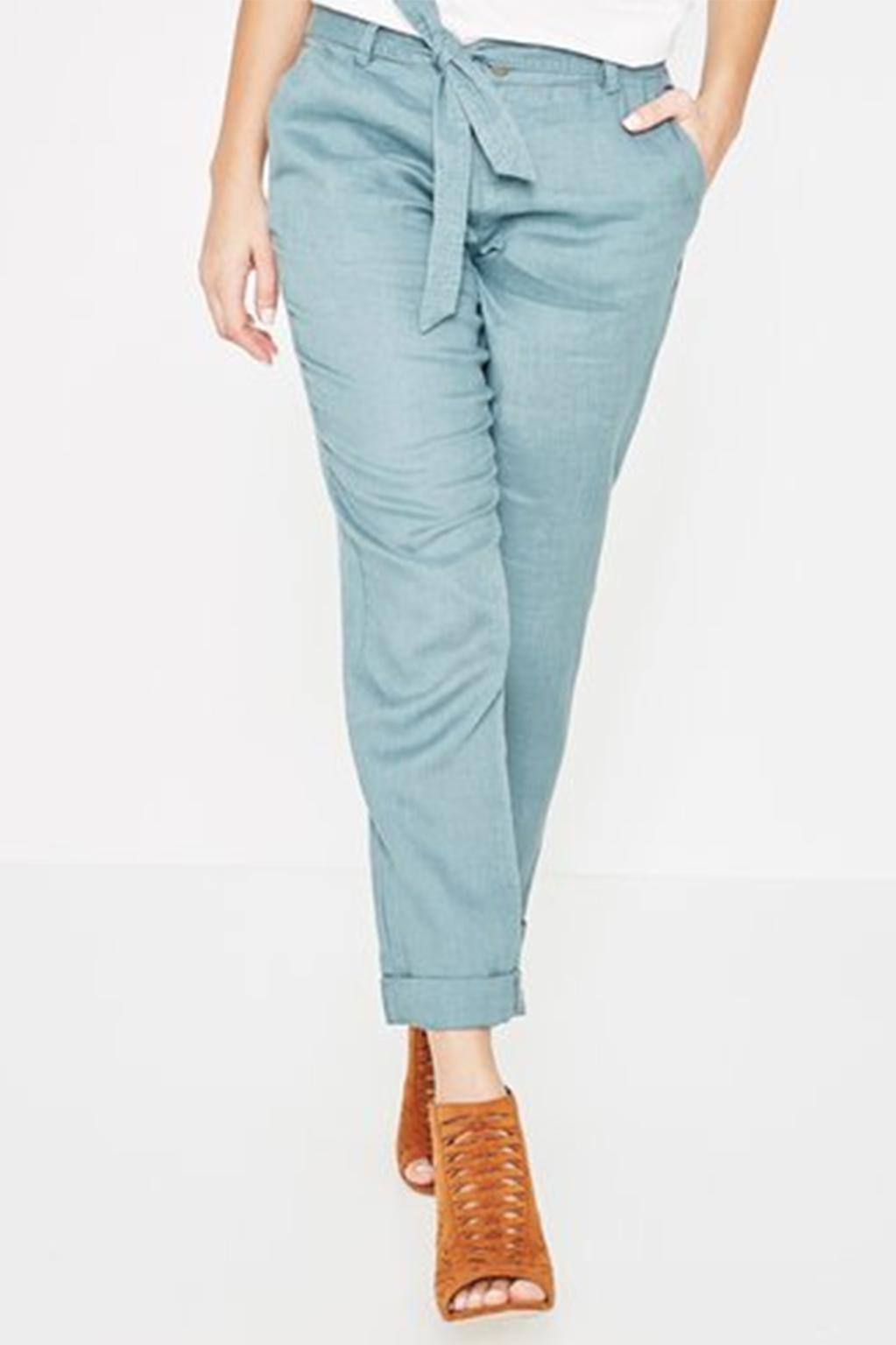 מכנסי פשתן  PROMOD - צבע לבחירה