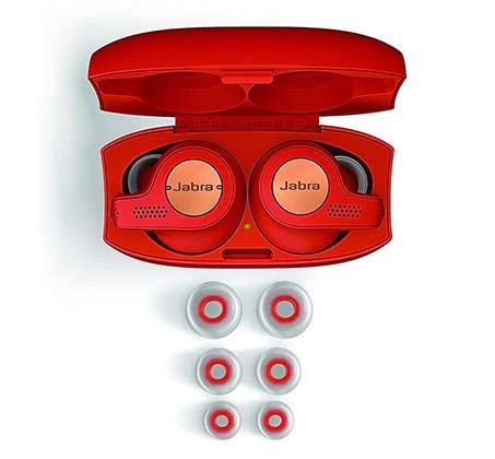 אוזניות True Wireless לספורט Jabra Elite Active 65t צבע אדום - משלוח חינם - תמונה 3