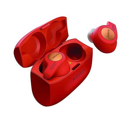 אוזניות True Wireless לספורט Jabra Elite Active 65t צבע אדום - משלוח חינם - תמונה 2
