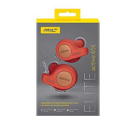 אוזניות True Wireless לספורט Jabra Elite Active 65t צבע אדום - משלוח חינם - תמונה 4