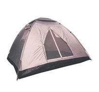 אוהל איגלו ל-6 אנשים GO NATURE עם 3 חלונות מרושתים