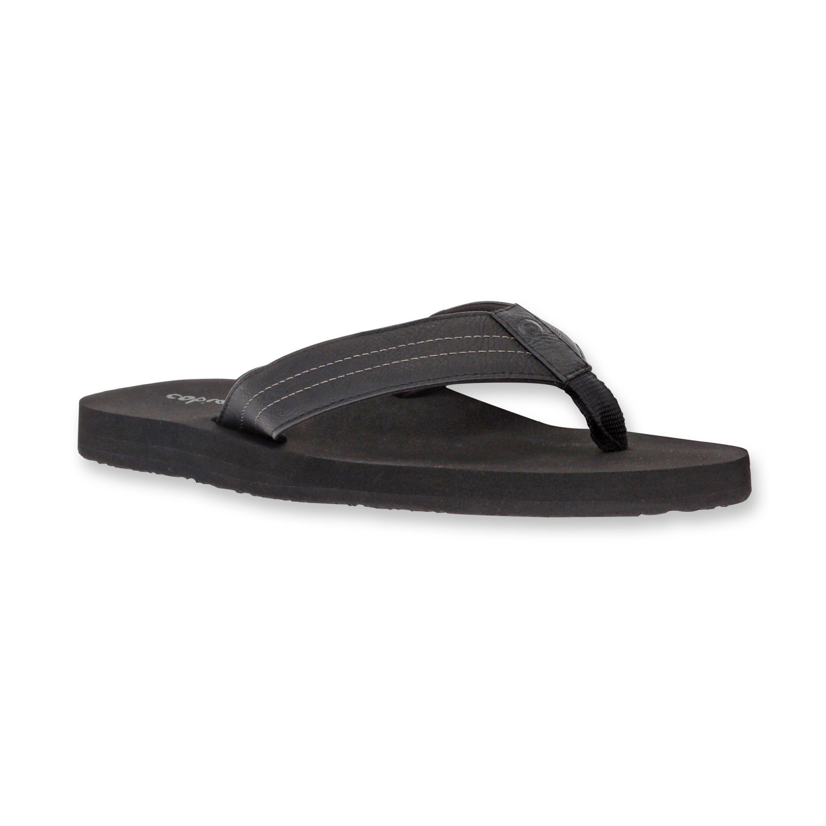 Cobian Costa - כפכף אצבע קוסטה שחור בעיצוב אופנתי
