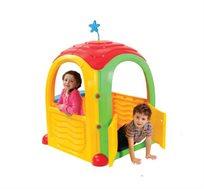 בית ילדים Cozy house, עשוי פלסטיק קשיח ועמיד בשמש