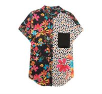 חולצה מכופתרת Roser לנשים - צבעונית