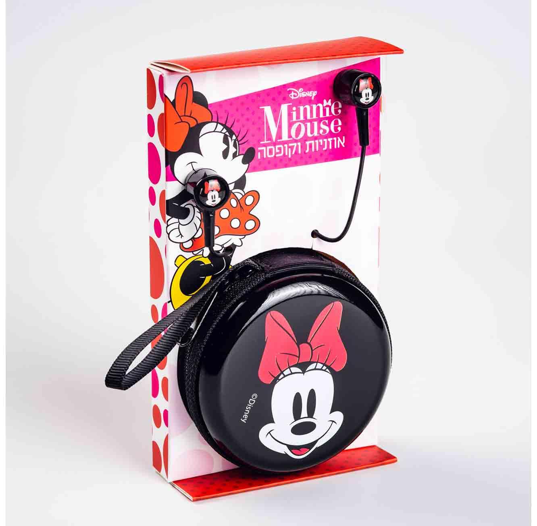 אוזניות עם קופסת נשיאה מיני מאוס
