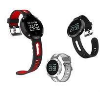 שעון ספורט עם מסך בטכנולוגיית OLED מתחבר לסמארטפון באמצעות Bluetooth