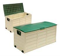 מבצע לזמן מוגבל! ארגז אחסון איכותי עם גלגלים לשימוש בבית ובגינה, עשוי מפלסטיק