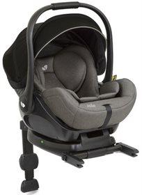 סלקל לתינוק עם מצבי שכיבה I-Level ובסיס איזופיקס באפור פלנל Gray Flannel