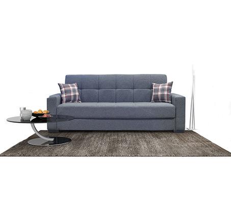 ספה תלת מושבית הנפתחת למיטה דגם Fermina בצבעים לבחירה
