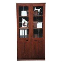 ארון מנהל ויטרינה למשרד דגם 183 עם דלתות
