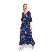 שמלת קיץ ארוכה פרחונית