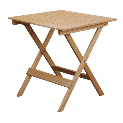 הוראות חדשות סט שולחן וכסאות לגינה או מרפסת מעץ מלא Wilma מבית BRADEX OY-03