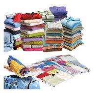 שקיות וואקום במארז של 10 יחידות לאחסון בגדים