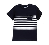 חולצת טי OVS קצרה לילדים - שחור