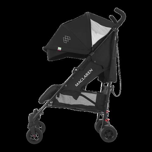 טיולון לתינוק קווסט 2019 עם גגון מורחב ומערכת נסיעה חדשה - כחול/פסים - משלוח חינם - תמונה 3
