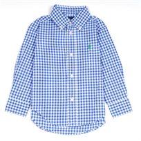 RALPH LAUREN / ראלף לורן חולצה מכופתרת משובצת - כחול