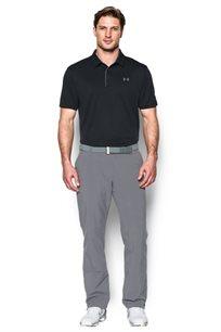 חולצת פולו לגבר UNDER ARMOUR דגם 1290140-001 בצבע שחור