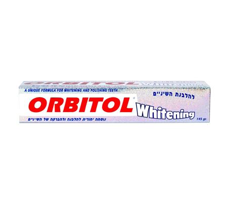 מארז 12 יחידות משחת שיניים אורביטול הלבנת שיניים