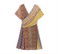 שמלת מעטפת Desigual לנשים דגם CLANZIE בצבע צבעוני