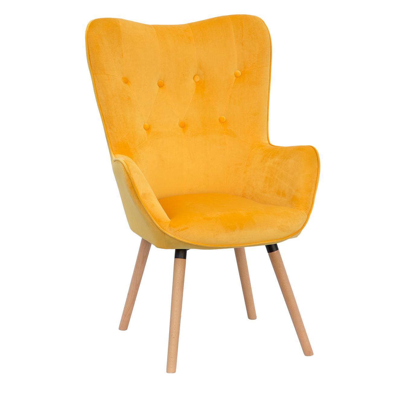 כורסא מעוצבת לסלון נוחה ומפנקת בעלת רגלי עץ בצבעים לבחירה U DESIGN - משלוח חינם - תמונה 3