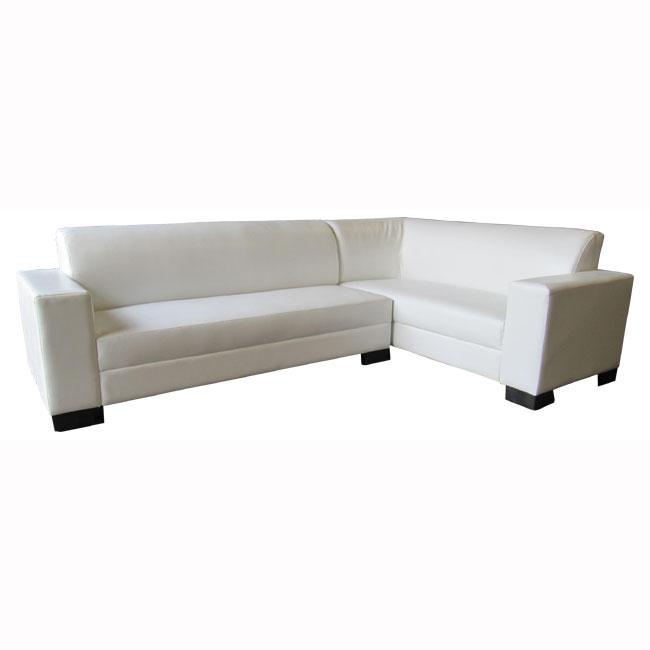 מערכת ישיבה פינתית מדמוי עור איכותי ובעיצוב קלאסי Or-Design דגם סיציליה - תמונה 2