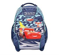 תיק אורטופדי לילדים X BAG דגם מכוניות בצבעים לבחירה + בקבוק שתייה מתנה