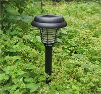 מנורת גינה סולארית עם תאורה עדינה וקטלן מעופפים ומזיקים