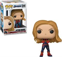 Funko Pop - Captain Marvel (Avengers Endgame ) 458  בובת פופ הנוקמים החדש